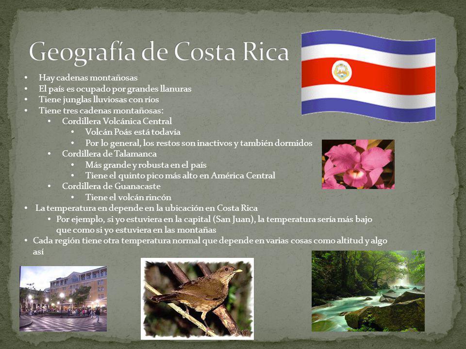 Es una isla obviamente Técnicamente es un territorio de los EE. UU. Hay áreas montañosas en Puerto Rico Hay junglas lluviosas y también hay muchos tip
