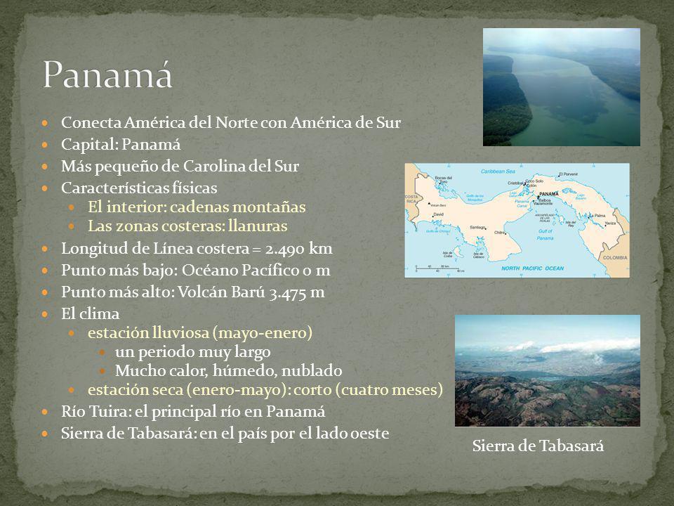 Entre Guatemala y Honduras Capital: San Salvador El país mas pequeña de America Central. Sin costa sobre el Mar Caribe Características físicas: playas