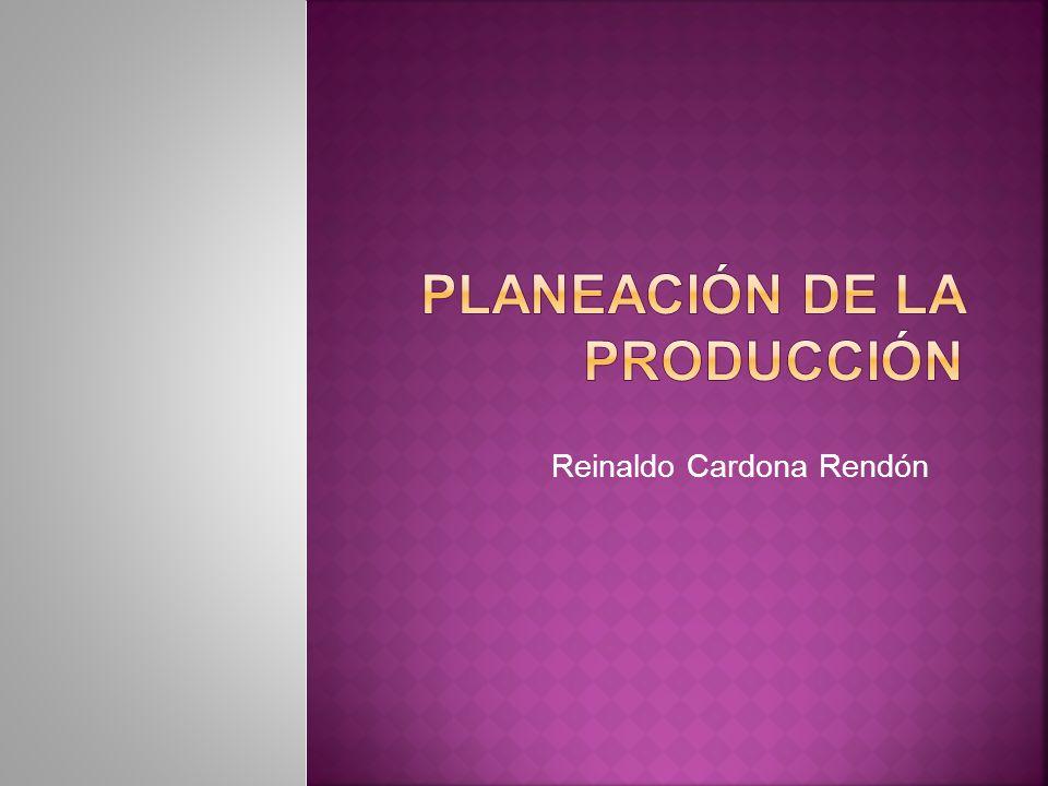 Plan estratégico Plan agregado de producción Plan Maestro de producción Programación de compras y producción Ejecución y control Largo plazo Medio plazo Corto plazo