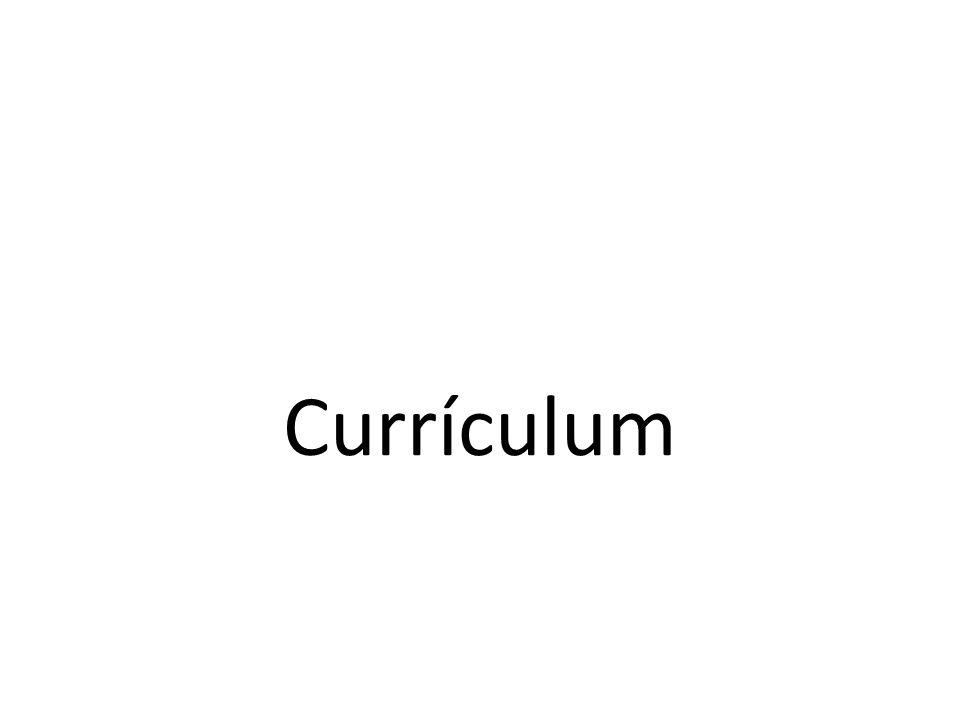 Objetivo El alumno analizará y delimitará el concepto de currículum, mediante la valoración de distintos enfoques, tendencias y análisis crítico de modelos curriculares.