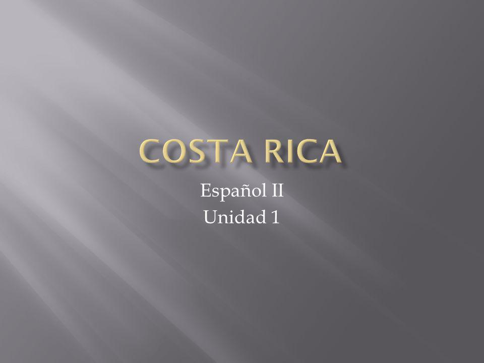 Español II Unidad 1
