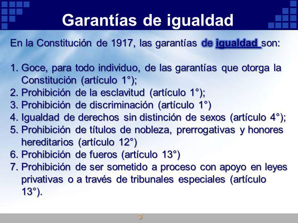 Garantías de igualdad 3
