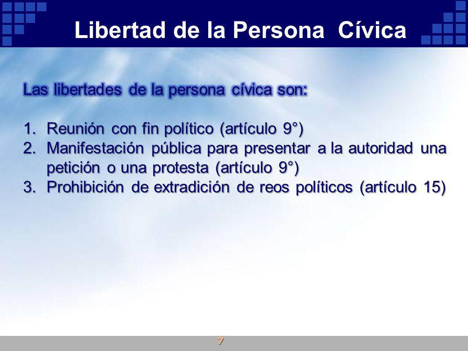 Libertad de la Persona Cívica 7