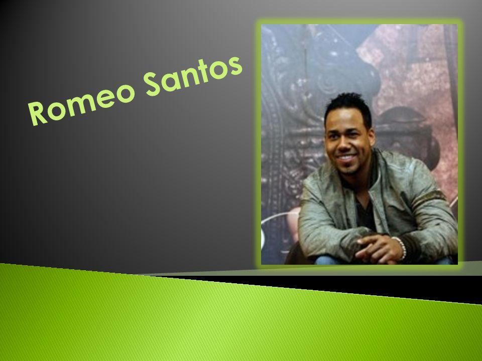 o Anthony Romeo Santos es un cantante estadounidense que nacio el 21 de Julio de 1981.