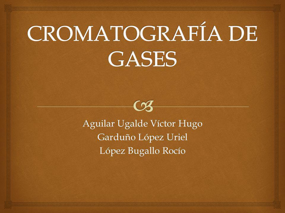 Los cromatogramas de gases se utilizan extensamente para determinar la pureza de compuestos orgánicos.
