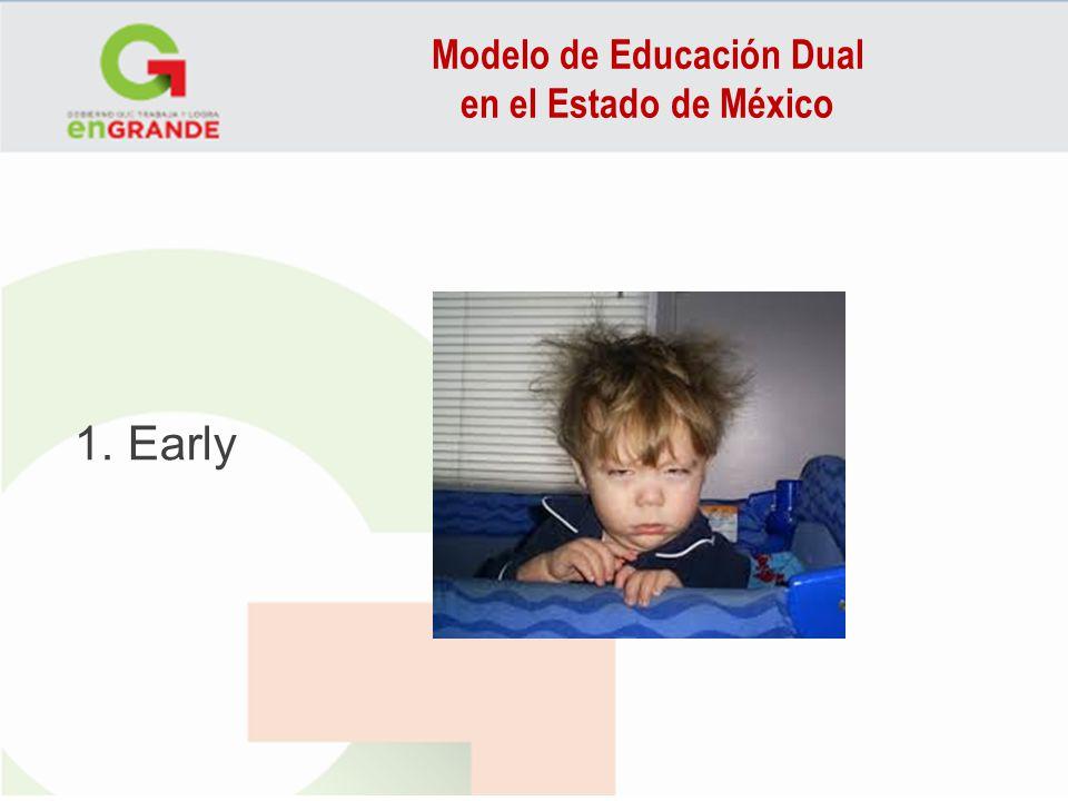 Modelo de Educación Dual en el Estado de México 1. Early