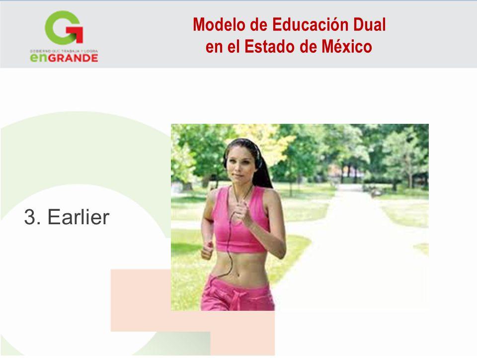 Modelo de Educación Dual en el Estado de México 3. Earlier