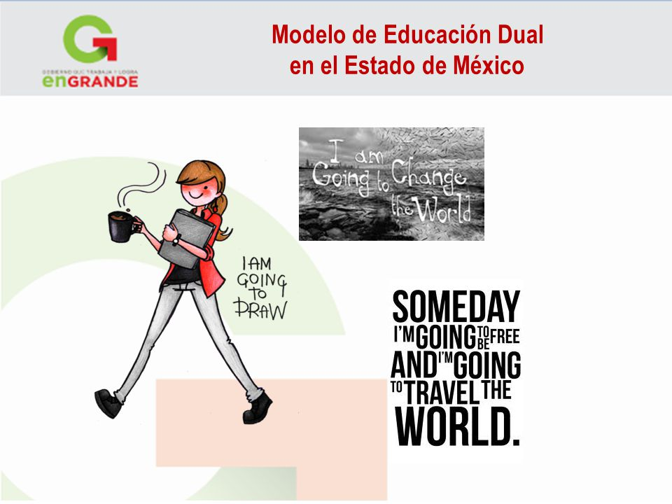 Modelo de Educación Dual en el Estado de México Simple Future Simple Future has two different forms in English: will and be going to. Although the two forms can sometimes be used interchangeably, they often express two very different meanings.