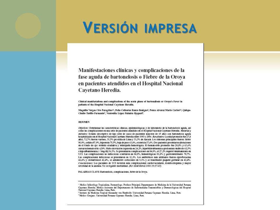 L AS P UBLICACIONES C IENTÍFICAS EN LA UPCH Entre 2000 a 2009 se registraron un total de 1210 publicaciones de autores peruanos en revistas científicas periódicas en la colección Clinical Medicine de ISI Web of Knowledge/ Thomson Reuters.