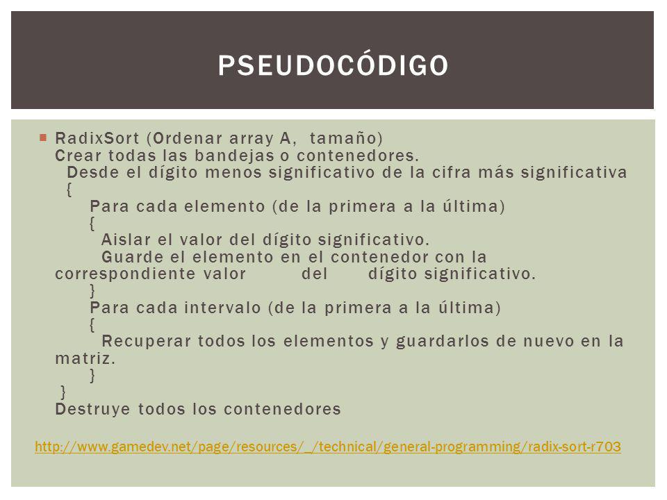 CODIGO Radixsort.C