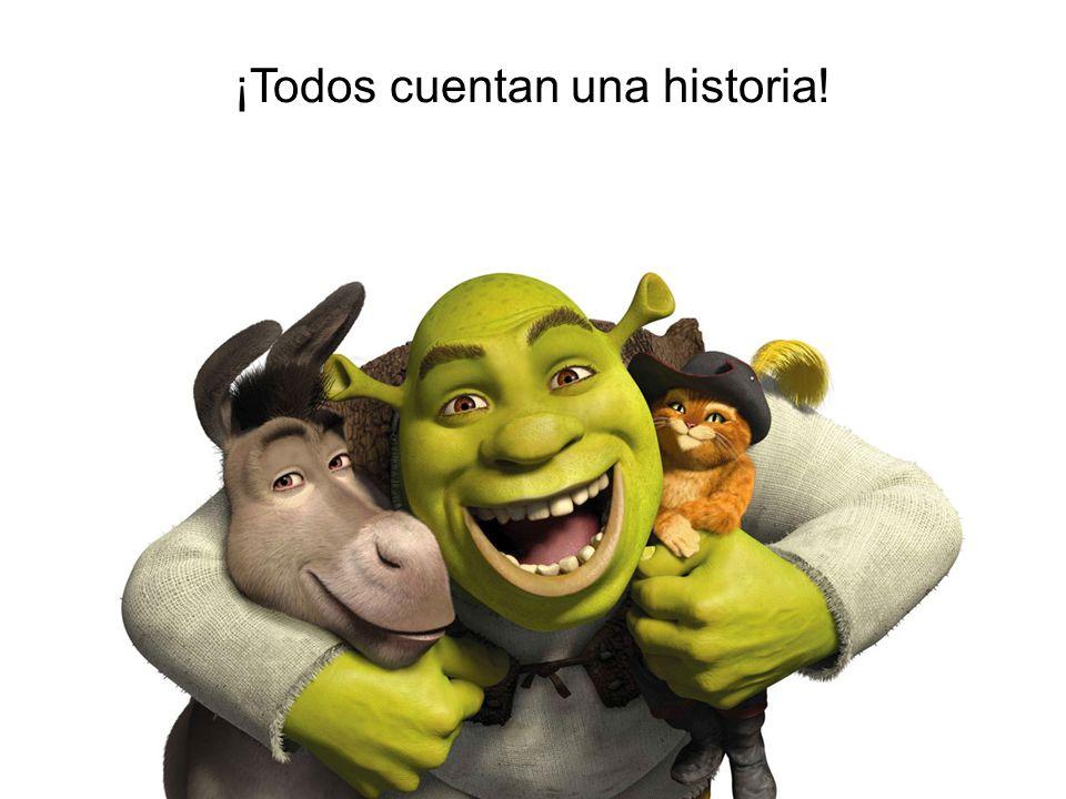 ¡Todos cuentan una historia!