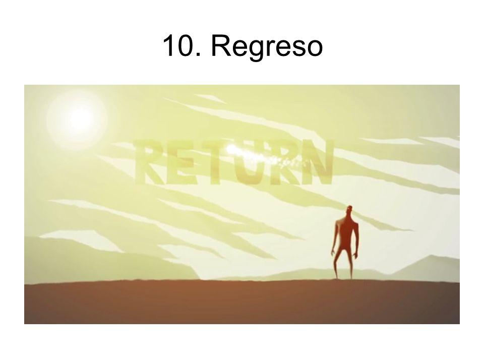 10. Regreso