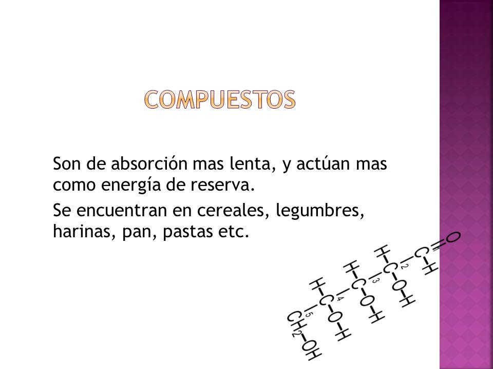 FUNCIÓN ENERGÉTICA Ocupan el primer lugar en el requerimiento diario de nutrientes Aportan el combustible necesario.