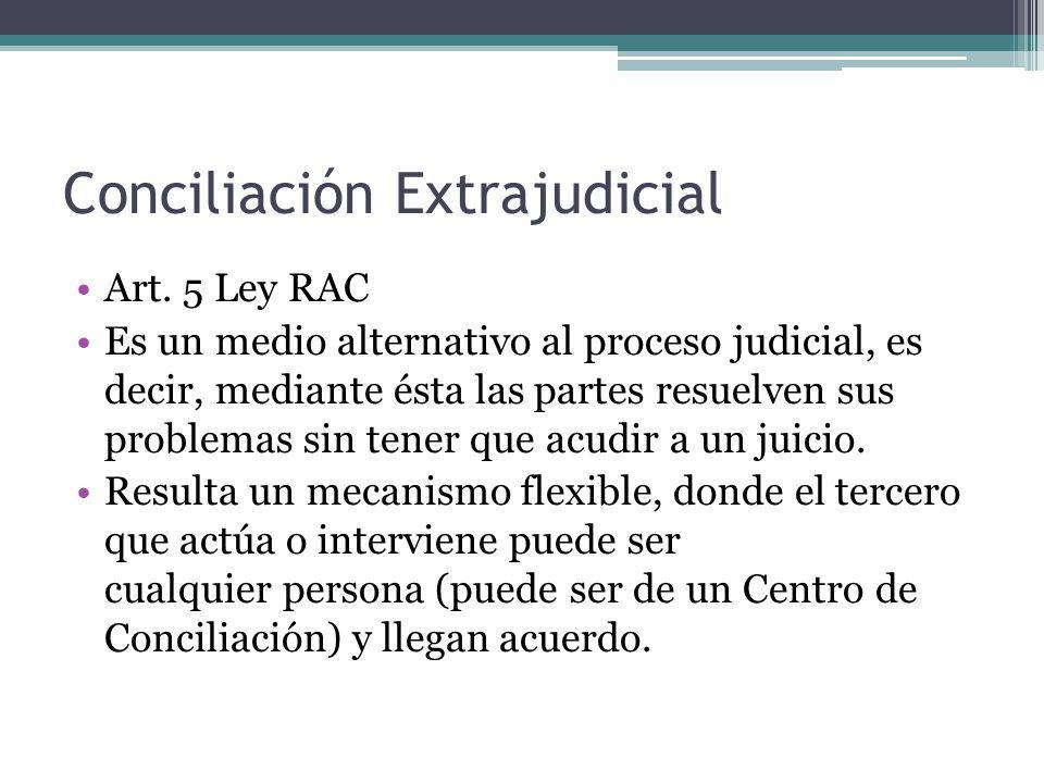 Conciliación Judicial Art.