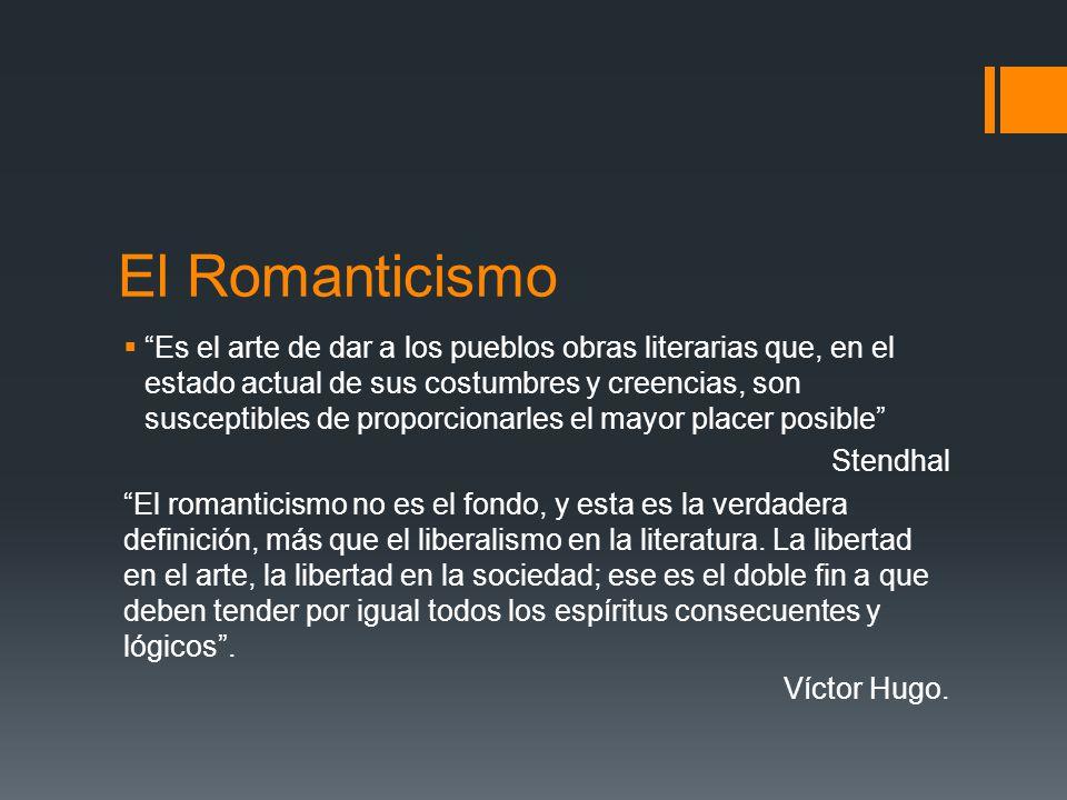 El Romanticismo.