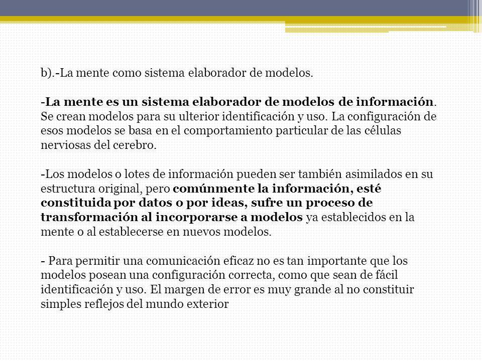 C.-Organización automática del sistema de información.
