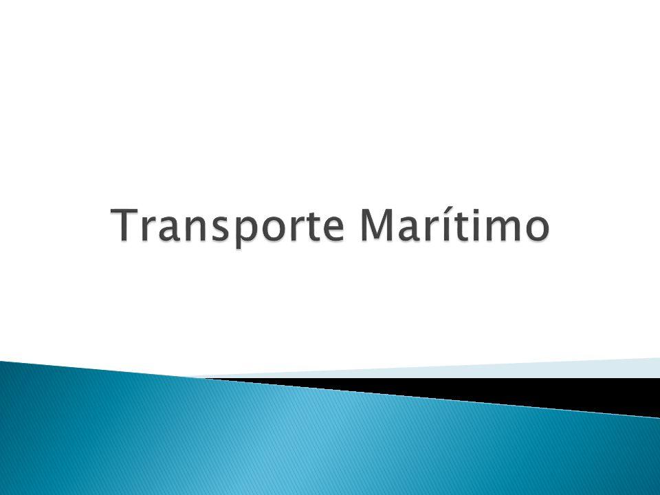 El transporte marítimo es la acción de llevar personas (pasajeros) o cosas (cargas sólidas o líquidas) por mar de un punto geográfico a otro a bordo de un buque con un fin lucrativo.