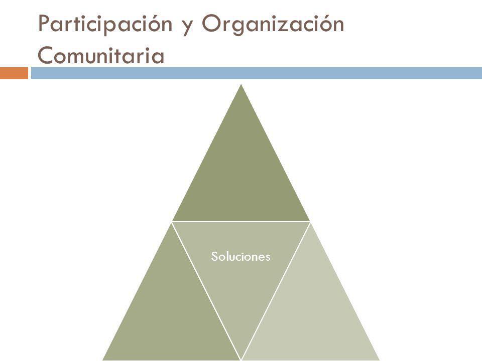 Participación y Organización Comunitaria Soluciones