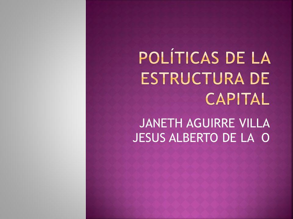 JANETH AGUIRRE VILLA JESUS ALBERTO DE LA O