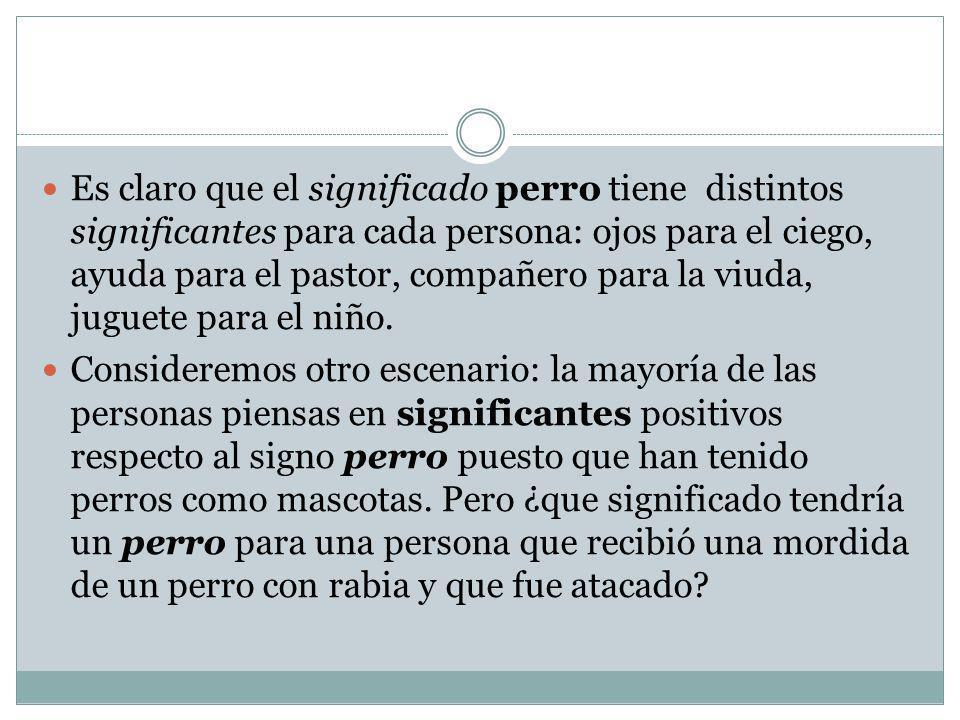 Caracteres del signo lingüístico LO ABSURDO DEL SIGNO LINGÜÍSTICO Las onomatopeyas parecerían indicar que la elección del signo no siempre es arbitraria, pero las onomatopeyas son escasas y su elección ( glu-glu, tic- tac…) pues no demuestran más que la la imitación aproximada de ciertos ruidos ( francés ouaoua, alemán wauwau, español guau-guau, inglés woof- woof ).