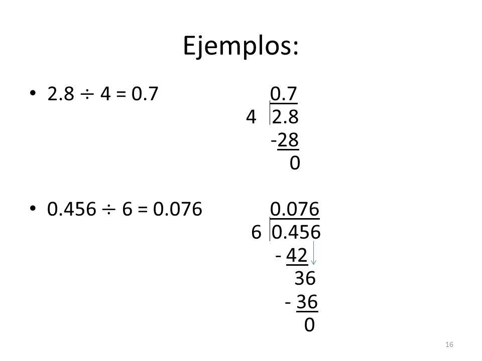 Ejemplos: 16