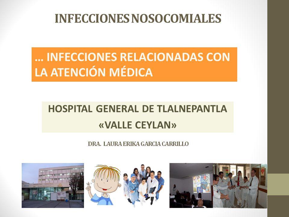 INFECCIONES NOSOCOMIALES HOSPITAL GENERAL DE TLALNEPANTLA «VALLE CEYLAN» DRA.