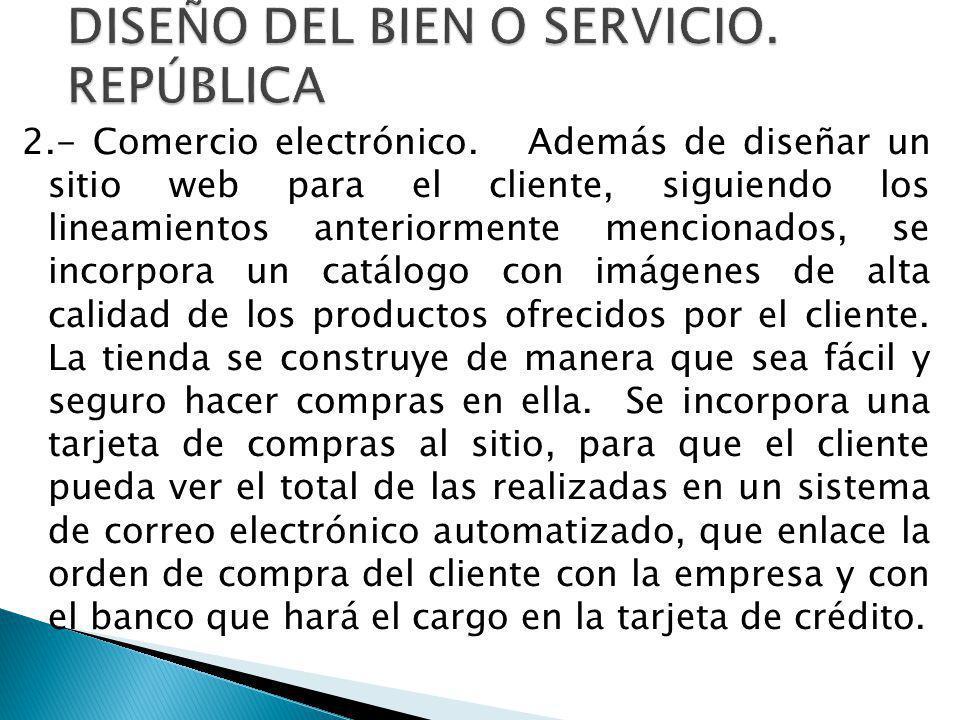 2.- Comercio electrónico.