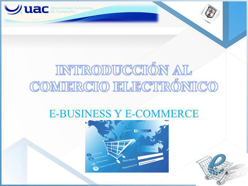 E-BUSINESS Y E-COMMERCE