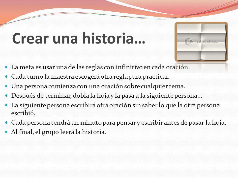 Crear una historia…