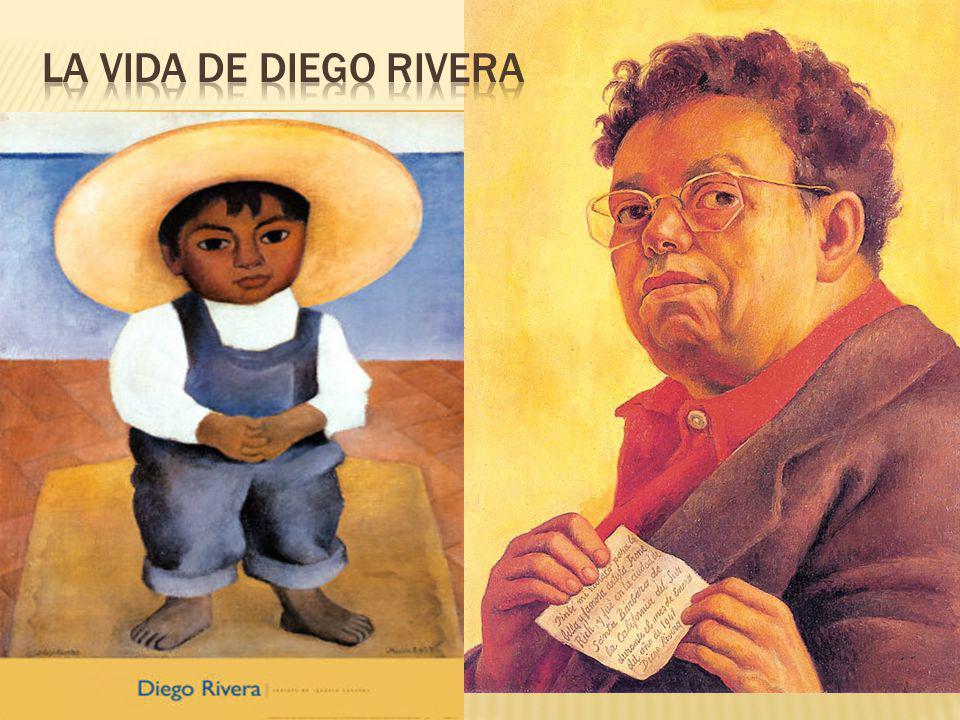 Diego Rivera nació en una familia de judíos conversos, es decir, de judíos que se vieron obligados a convertirse al catolicismo.