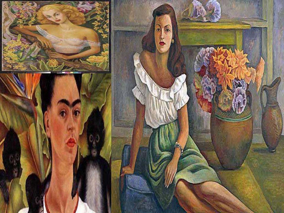 El arte de Diego Rivera como pinturas y murales eran muy influenciados por la politica.