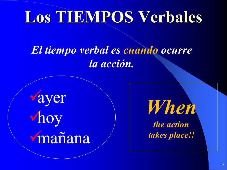 Every sentence in Spanish has a TENSE and a MOOD TENSES look different in different MOODS. 2 Rebecca es responsable Rebecca,sé responsable.