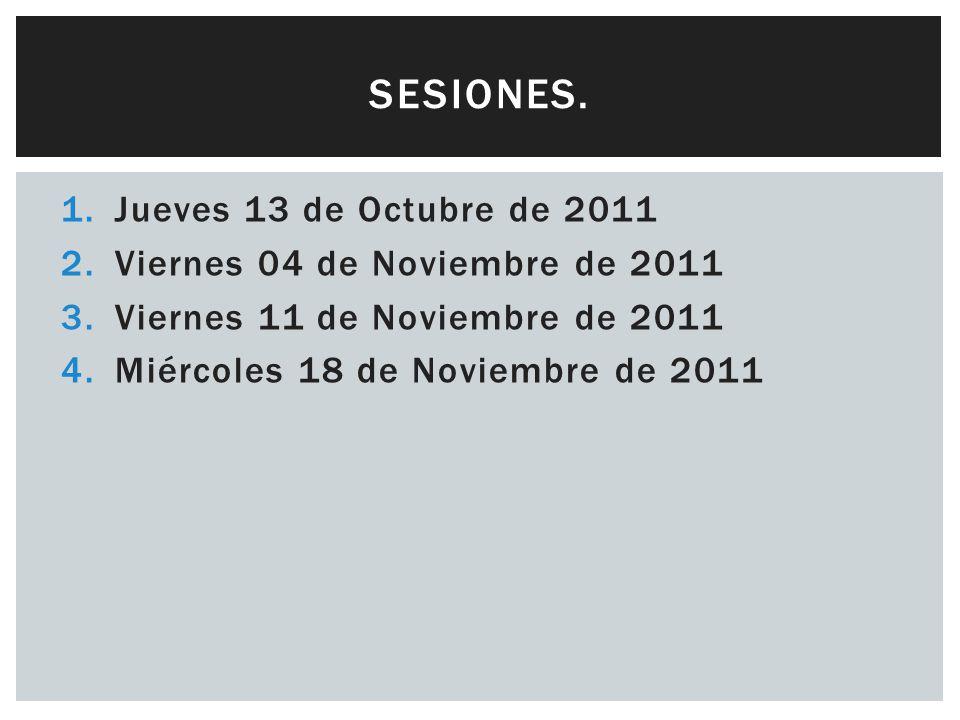ENTREGAS: EXAMEN EN SESIÓN 4 (18 Nov) y PROYECTO FINAL 28 de Noviembre