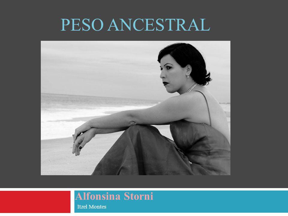 Datos biográficos de Alfonsina Storni Nació en Suiza el 29 de mayo de 1892.