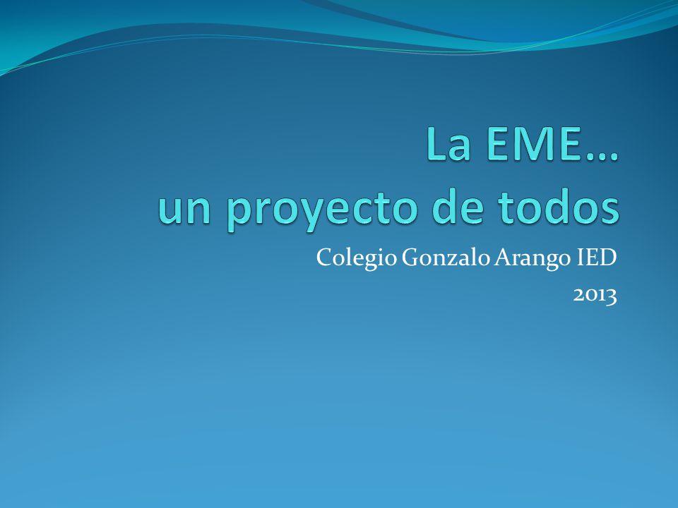 Colegio Gonzalo Arango IED 2013