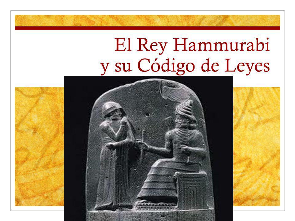 Hammurabi y los Amoritas Hammurabi fue el sexto rey de la Dinastía Amorita.