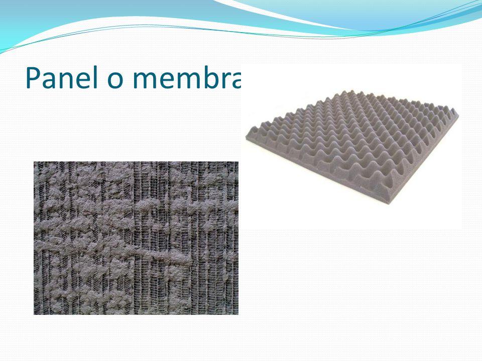 Panel o membrana