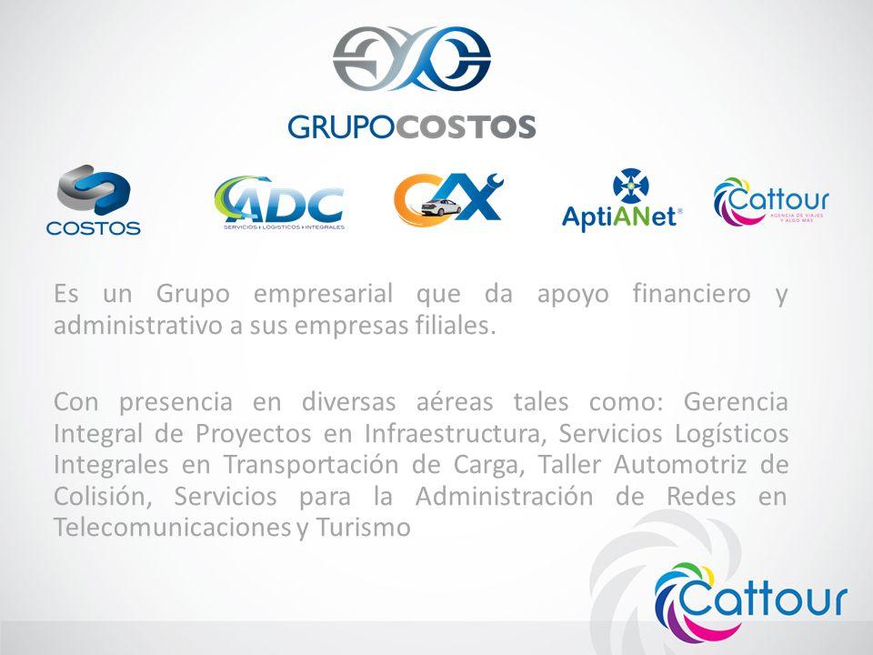 Es un Grupo empresarial que da apoyo financiero y administrativo a sus empresas filiales. Con presencia en diversas aéreas tales como: Gerencia Integr