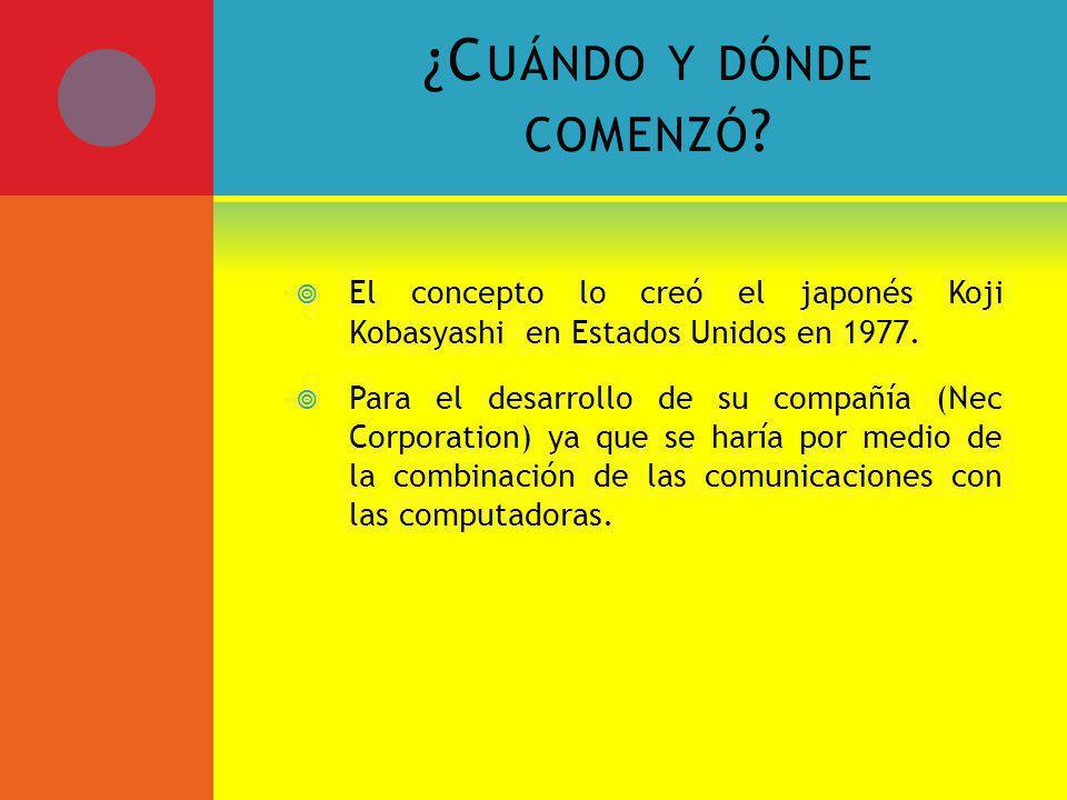¿C UÁNDO Y DÓNDE COMENZÓ .
