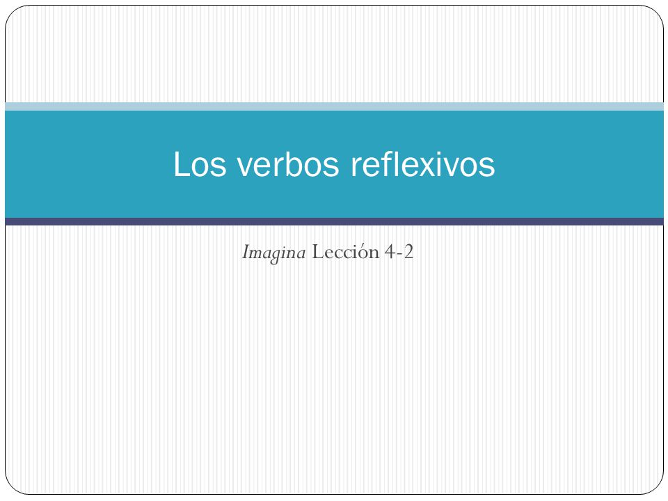 In a reflexive construction, the subject of the verb both performs and receives the action.