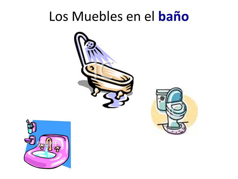 Los Muebles en el baño