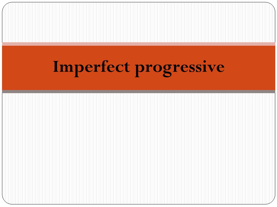The imperfect progressive is formed by conjugating estar in the imperfect and adding the present participle (ing).