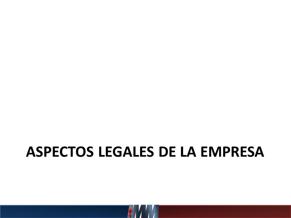 ASPECTOS LEGALES DE LA EMPRESA