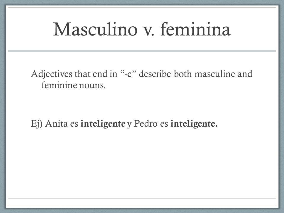 Masculino v.