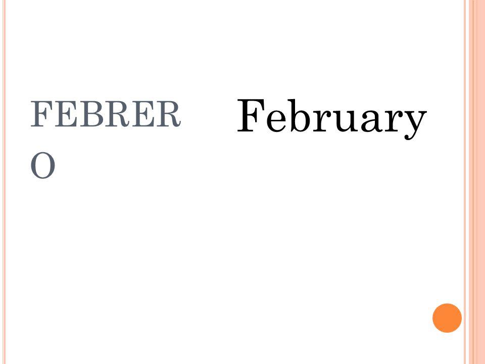 ENERO January