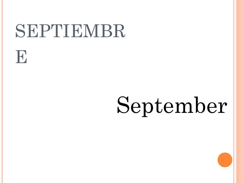 AGOSTO august
