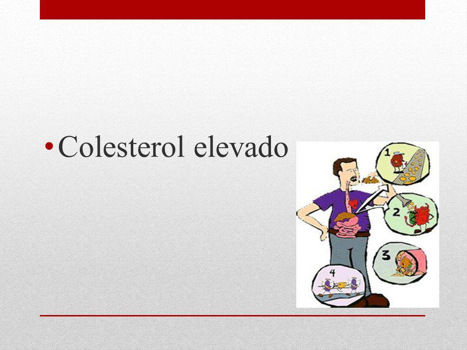 Colesterol elevado