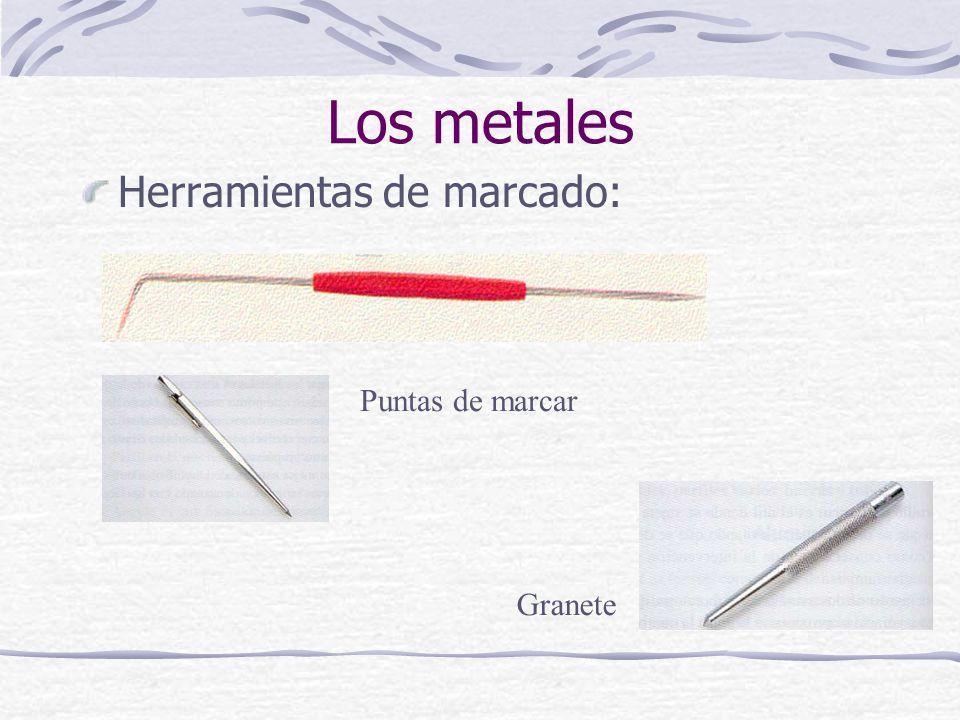 Herramientas de marcado: Los metales Puntas de marcar Granete