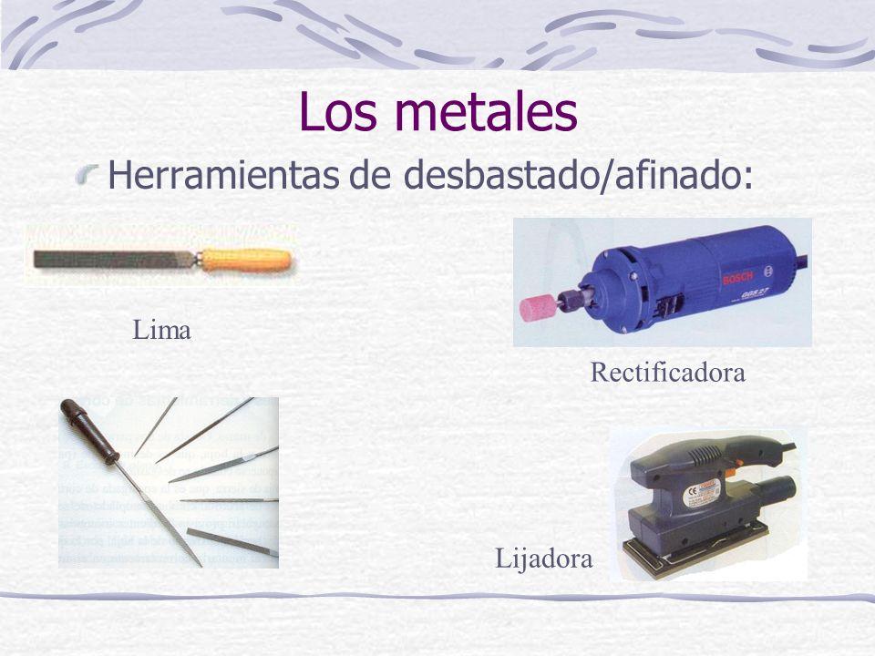 Herramientas de desbastado/afinado: Los metales Lima Rectificadora Lijadora