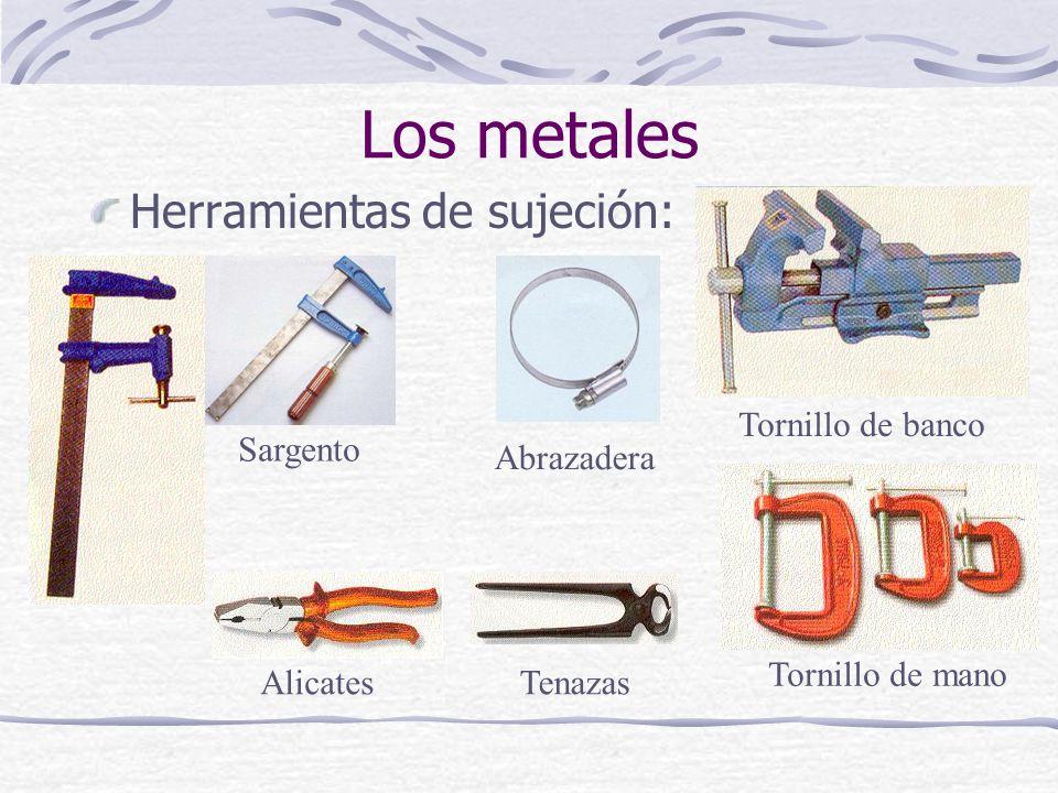 Herramientas de sujeción: Los metales Sargento Tornillo de banco Tornillo de mano Abrazadera AlicatesTenazas